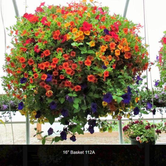 16 Inch Flower Baskets