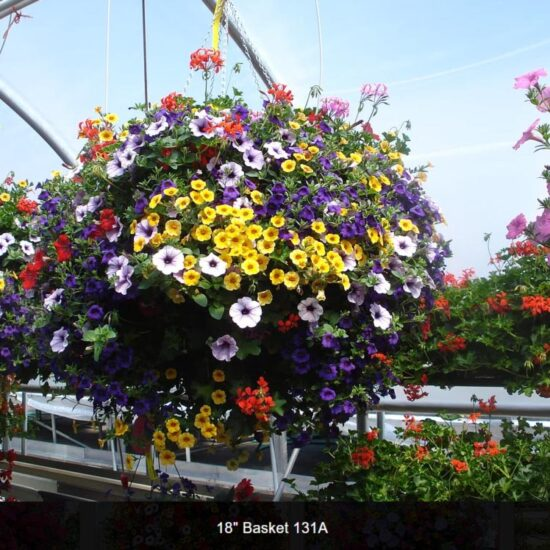 18 Inch Flower Baskets
